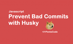 husky git commit hook