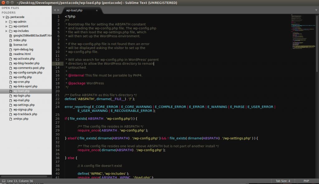 Sublime text syntax
