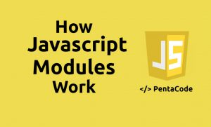 how javascript modules work