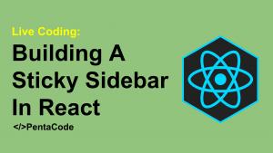 Learn React Hooks In 15 Minutes   Pentacode