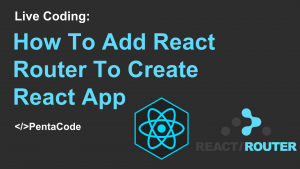 create react app with react router